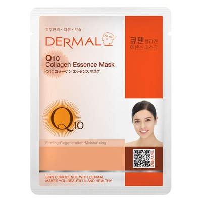 DERMAL Collagen Essence Facial Mask Q10 23g