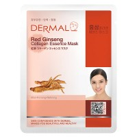 DERMAL Collagen Essence Facial Mask Red Ginseng 23g
