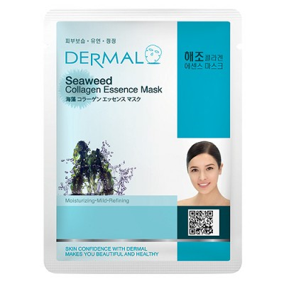 DERMAL Collagen Essence Facial Mask Seaweed 23g