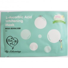 MY SCHEMING L-Ascorbic Acid Whitening Facial Mask 30ml