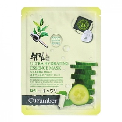 SHELIM Ultra Hydrating Essence Facial Mask Cucumber 25ml