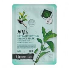 SHELIM Ultra Hydrating Essence Facial Mask Green Tea 25ml